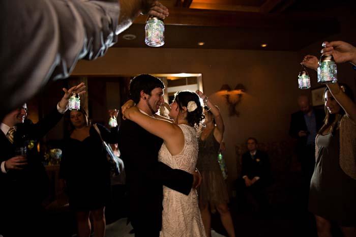 sun lantern first dance marin wedding photography