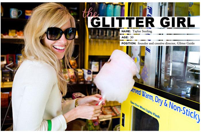 taylor sterling everygirl glitter guide