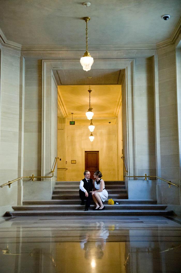 City Hall wedding SF