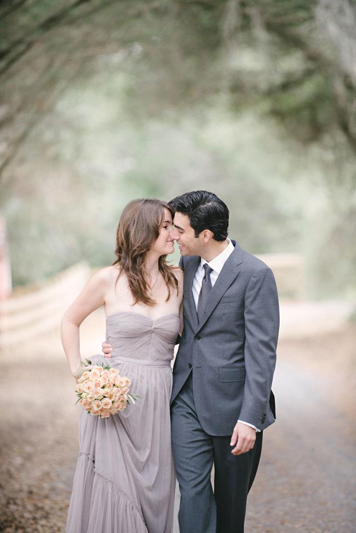 healdsburg elopement wedding photographer BHLDN dress