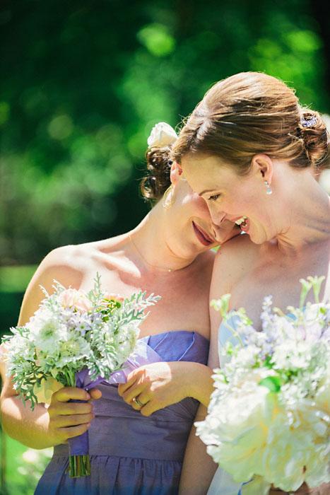 napa valley wedding photographer maid of honor